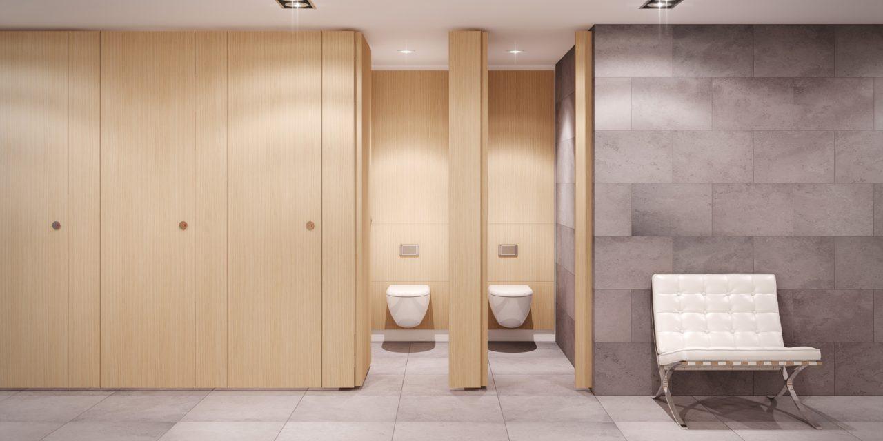 Качественные туалетные перегородкидля общественных санитарных зон